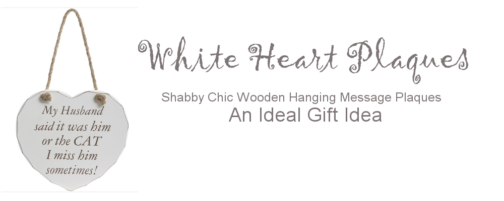 Shabby Chic hearts - an ideal gift